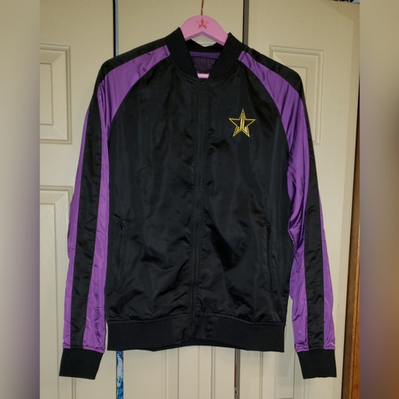 Jeffree Star Jackets & Blazers - Jeffree Star Cosmetics Bomber Jacket sz L